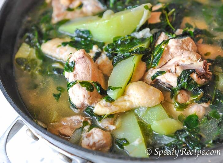 Chicken Tinola Recipe